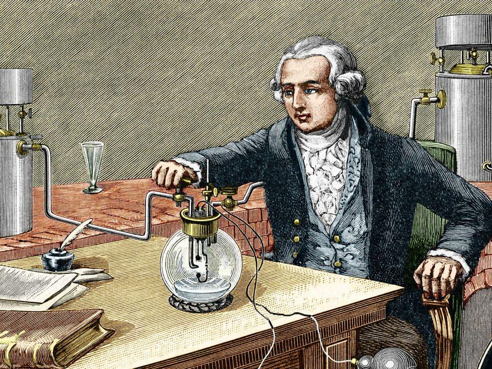 Antoine Lavoisier, padre de la química